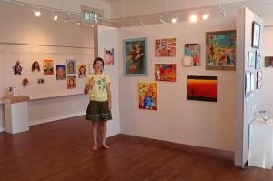 Tara's art show