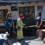 Madame Cladonia-ribbon cutting