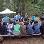 Inspirational story-telling around the campfire!